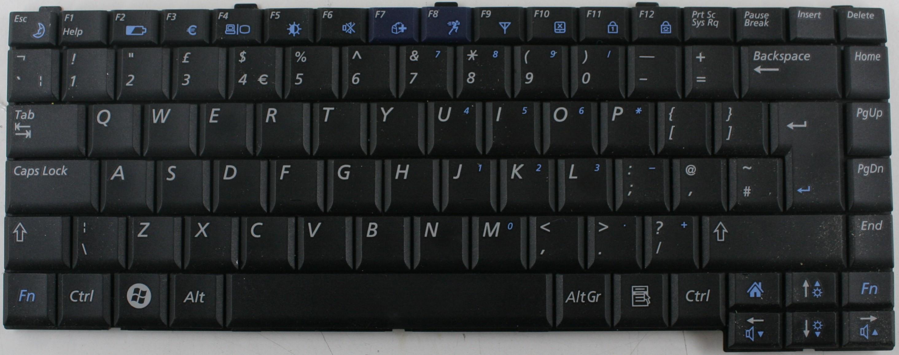 Kết quả hình ảnh cho Bàn phím laptop Samsung R60